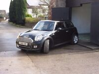 MINI cooper D CHILI PACK with lifetime free 4s MOT and two years free service