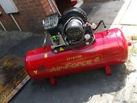 Air-force air compressor 150 litres