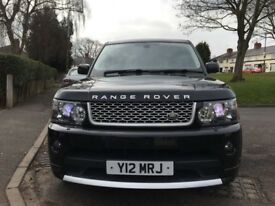 Range Rover Sports Autobiography Black 12 Upgraded