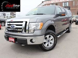2009 Ford F-150 XLT 4X4 SuperCrew XTR Pkg 4.6L V8