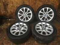 "BMW X5 F15 ""19"" SPORT ALLOY 450 V WHEELS AND TYRES ALLSO FITS E70 MODELS"