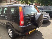 HONDA CRV 2004 AUTOMATIC METALLIC BLACK