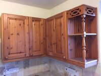 Classic Pine Kitchen Cabinets