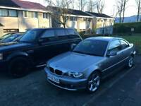 Bmw 320cd 55 plate swap for motorbike
