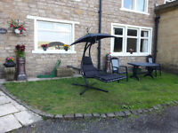 Helicopter chair swing