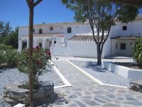 Holiday Rental/Guest House Province of Granada (Baza) with very large swimming pool and tennis court