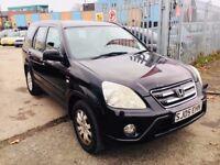 HONDA CRV AUTOMATIC SPORT BLACK PETROL 2.0 5 DOORS 2005