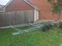 Twin Axle trailer chassis( NEW )
