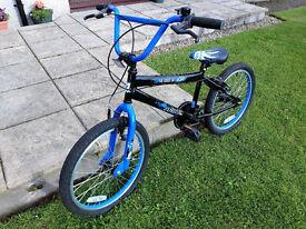 Zombie Outbreak BMX Bike - Black & Blue