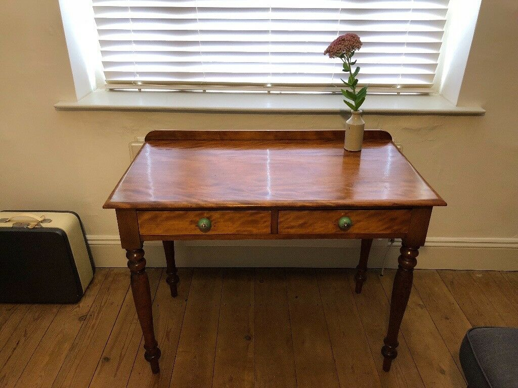 Beautiful Vintage Wooden Writing Desk
