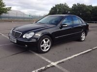 Merceded Benz - C180 - Kompressor - C Class - Avantgarde - AUTO Black - 1.8 2003