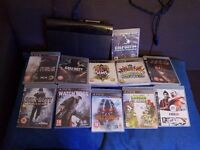 Ps3 slim including 11 games