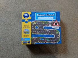 Orchard Toys Giant Road Floor Puzzle - AS NEW