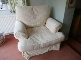 FREE - loose cover armchair in cream
