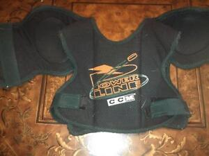 CCM Youth Power Line Chest Guard