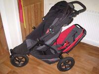 Phil & Teds double stroller Explorer Black