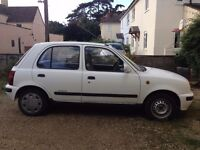Nissan Micra K11 1993 LOW MILEAGE new exhaust and battery