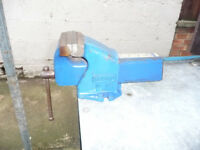 RECORD MODEL 100 BENCH VICE 100mm JAWS