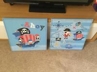 Pirate canvases
