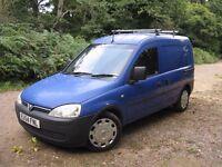 Vauxhall Combo 1.7td Blue Panel Van 2004. 11 month MOT