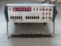 Racal Universal Timer Frequency Counter + High Stability Ovan fitted
