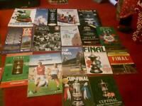16 FA Cup final programmes