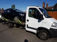 Vauxhall movano recovery truck 3.5t beavertail