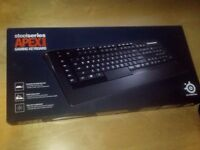 SteelSeries APEX [RAW] Backlit Gaming Keyboard