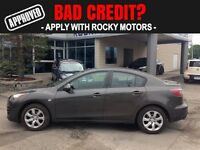 2010 Mazda MAZDA3 $50.04 A WEEK + TAX OAC - BAD CREDIT APPROVALS