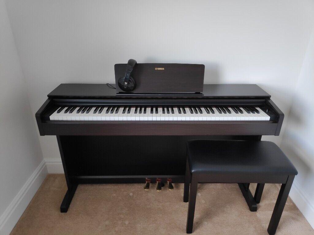 Yamaha Arius Ydp 143 Full Length 88keys Digital Piano In Rosewood With Matching Bench In Kennington Kent Gumtree