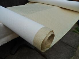 Vertical Roller Blind Fabric ~ Lined 30 mtr x 140 cm Wide Roll ~ Make Your Own.