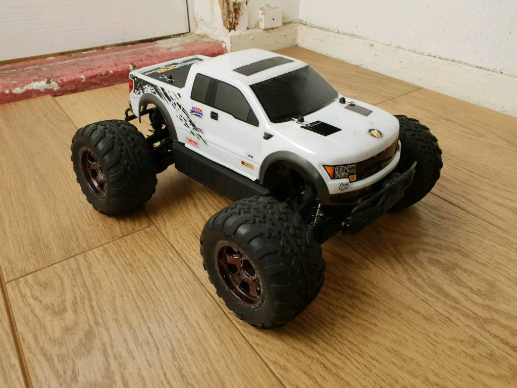 Hpi Savage XS Flux Ford Raptor  Brushless Monster Truck  Spare Body's   Boxed  RC Car Truck | in Leicester, Leicestershire | Gumtree