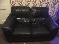 2 seater leather couch.