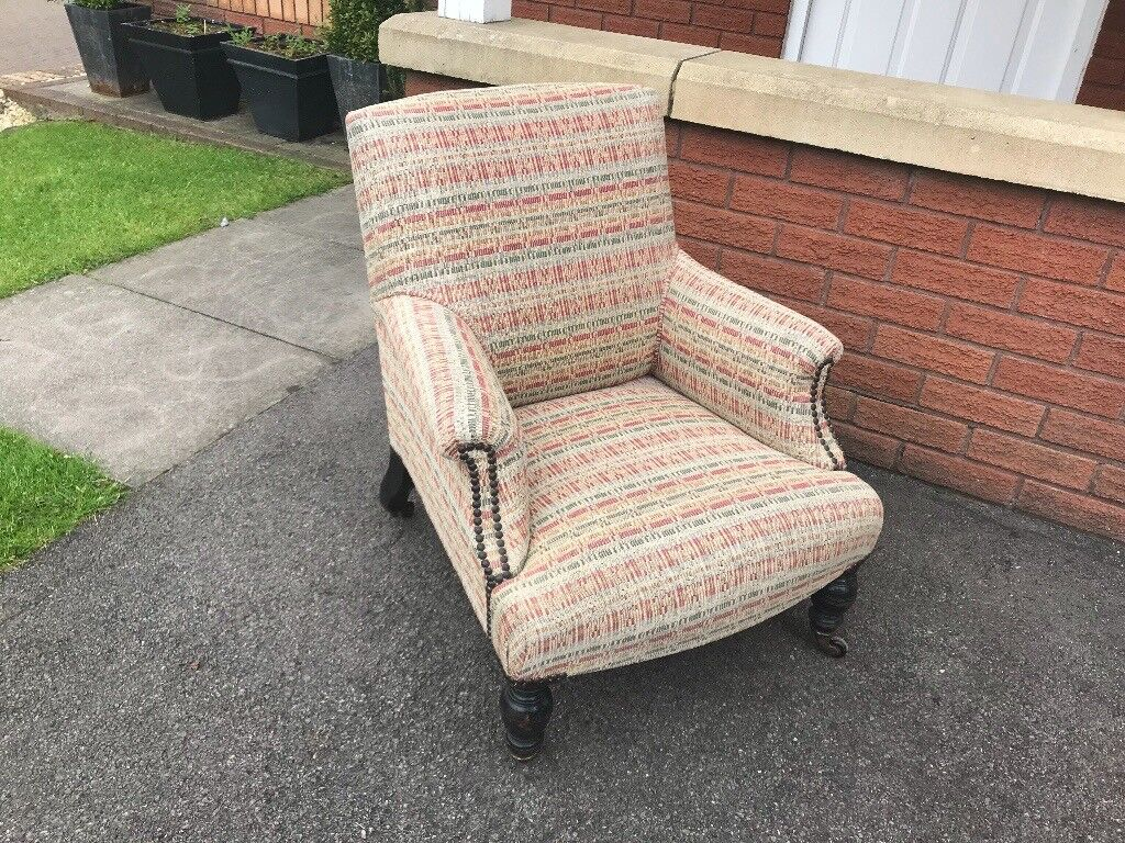 Antique Nursing Chair Nursery Vintage Small Club