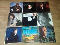 """9 x robert palmer vinyls LP's / 12"""" / promos"""