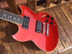 Yamaha SG-510 (Red, 1985)