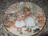 Royal Worcester Gift of Love NSPCC Plate.