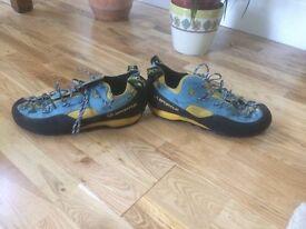 New La Sportiva Rock Jock Climbing Shoes size 46 UK 11.5