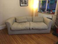Sofa by Habitat cream colour