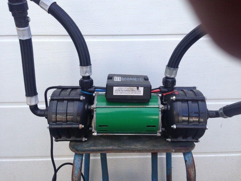 SALAMANDER ESP 100 TWIN SHOWER PUMP,USED   in Lauder, Scottish ...
