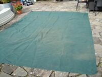 breathable awning ground sheet 12ft 6inch x 9ft 9inch as new onlt £20 for quick sale