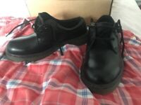 Dr Marten style safety shoes size 6