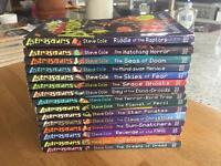 Collection of Astrosaurs children's books (Steve Cole)