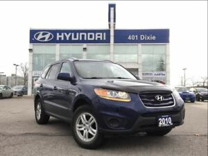 2010 Hyundai Santa Fe GL|AUTO|BLUETOOTH|KEYLESS ENTRY|ALLOYS|
