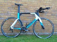 New Giant Trinity Advanced Time trial/ Triathlon bike. Size Large