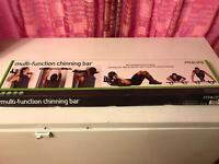 Fit 4 life multi function chinning bar