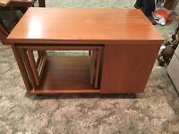 G Plan, coffee table with nest of tables