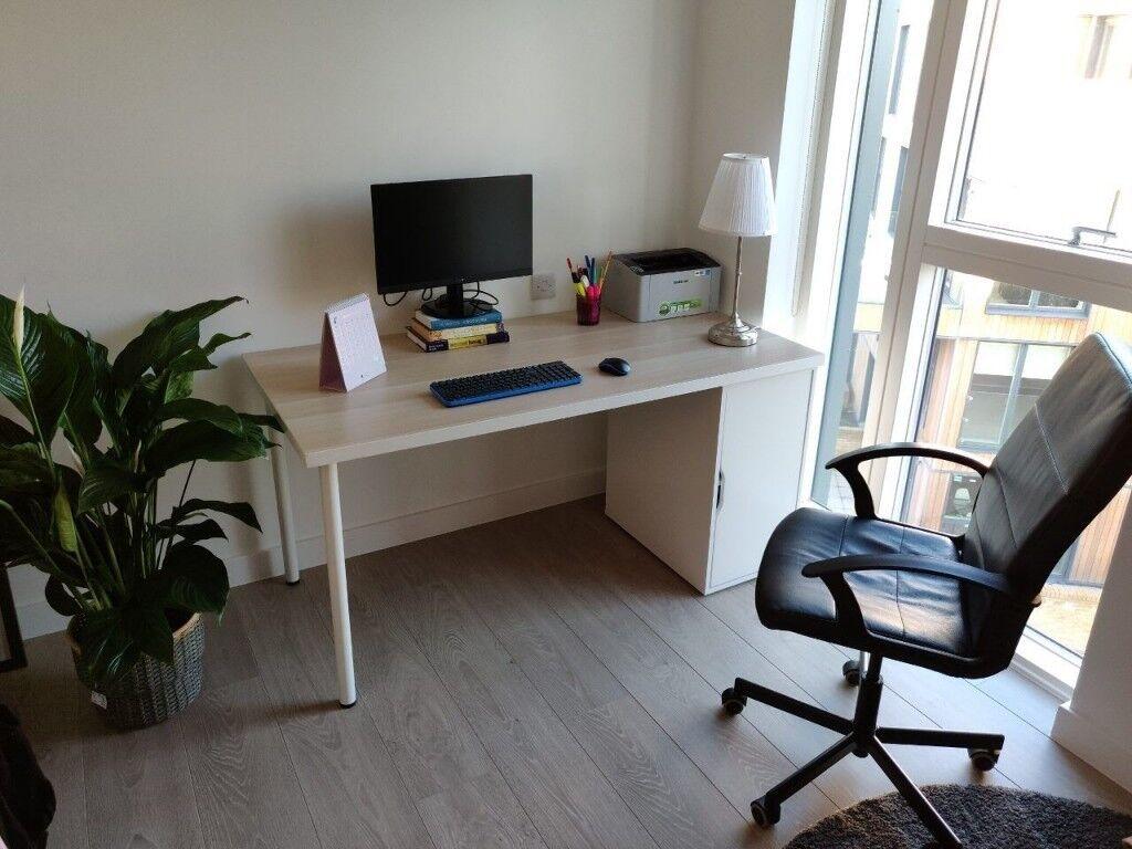 Ikea study desk & chair linnmon alex torkel in forest hill