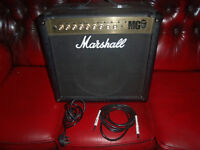 marshall MG50FX power AMP as new also has input for mp3 player can be seen working