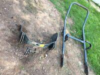 Roll bar ROPS hoop digger roll cage Amman Yanmar mini digger micro digger complete fits